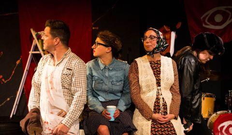 extrait spectacle théâtre l'équarrissage pour tous le workshop