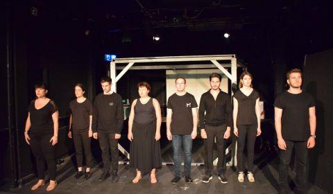 extrait spectacle théâtre tranche de vie le workshop