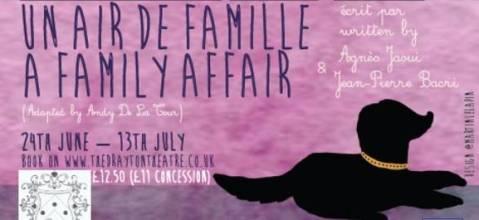 poster plays a family affair and un air de famille jaoui bacri andy de la tour