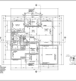 detailed floor plans this shows the layout of each floor of the house rooms and interior spaces are carefully dimensioned doors and windows located  [ 1294 x 855 Pixel ]