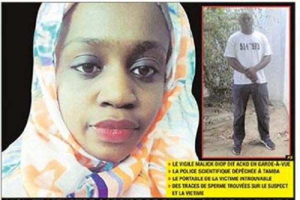 Assassinat de Binta Camara: Le garde du corps du DG de l'ADL, suspect n°1