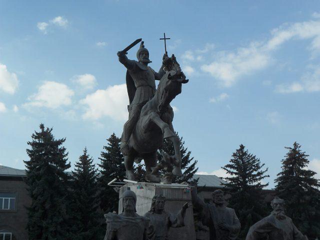 L'Arménie a été le premier pays à adopter le christianisme comme religion d'Etat (c) G.A.-D.