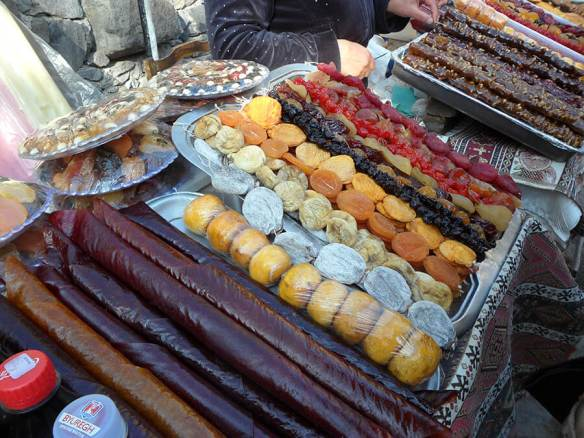 L'Arménie est renommée pour sa production et l'excellence de ses fruits confits (c) G.A.-D.