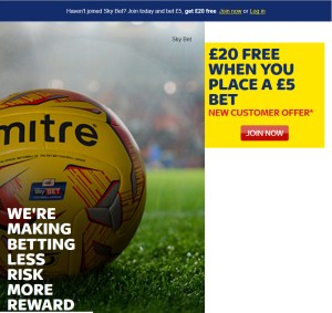 Click and Get £20 Free From a £5 Bet