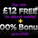 888 Games – Get £12 Free No Deposit!
