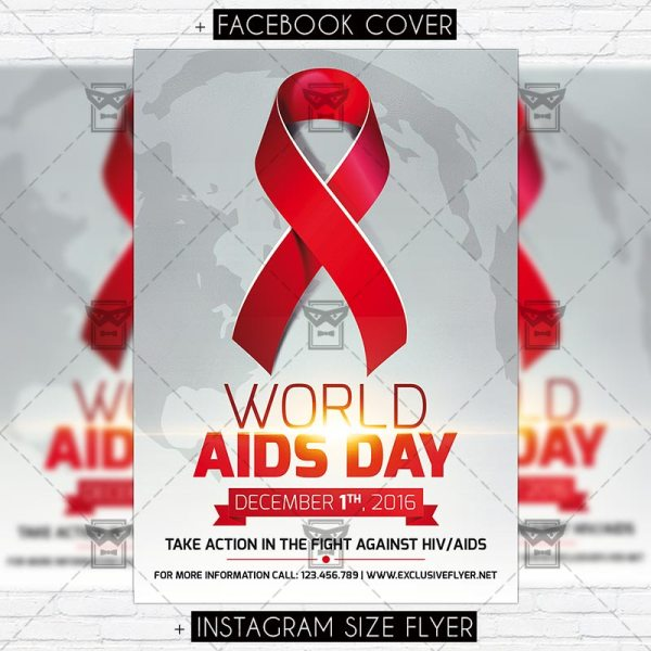 World Aids Day Vol.2 Premium Flyer Template Exclsiveflyer Free And Psd Templates