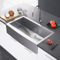36 Inch Kitchen Sink Table Sizes Exclusive Heritage 36″ X 21″ Single Bowl Stainless Steel ...