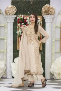 EXCLUSIVE LIGHT FAWN BRIDAL DRESS - Exclusive Online Boutique