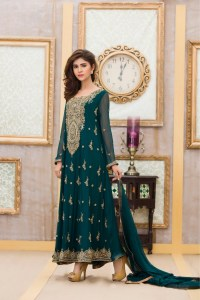 BOTTLE GREEN Bridal Dress BY Exclusive Boutique ...