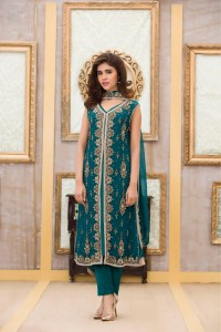Exclusive Boutique Sea-GREEN BRIDAL DRESS - Exclusive ...