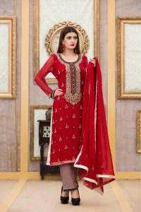 Exclusive Boutique RED Bridal Dress - Exclusive Online ...