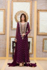 Exclusive Boutique Bridal Wear Purple Color - Exclusive ...