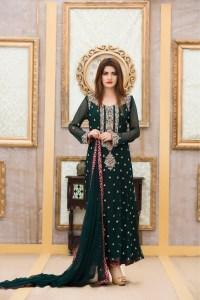 EXCLUSIVE BOUTIQUE BRIDAL BOTTLE GREEN DRESS - Exclusive ...