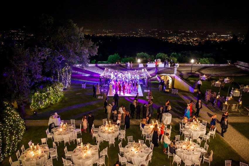 Florence Wedding Villa Di Maiano In Tuscany