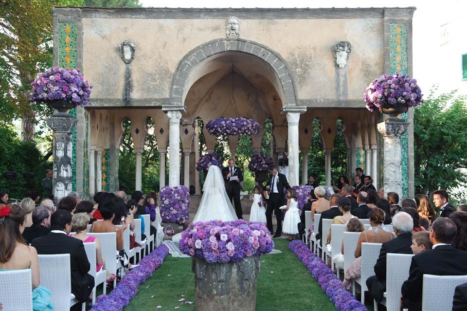 Ceremony in Ravello
