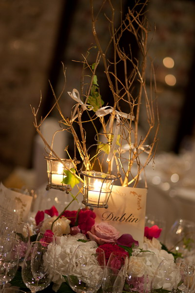 Details of table decoration