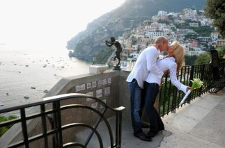 Cindy and Peter, photo session in Positano