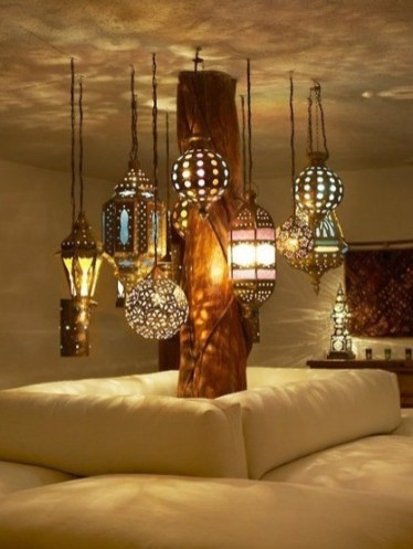 Moroccan style Lanterns. Source: Franticdreams.com