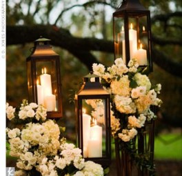 Lanterns garden decor