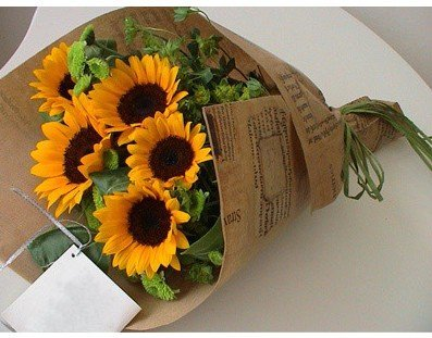 Bouquet_Sunflower