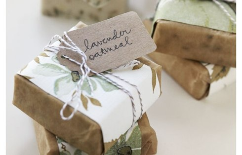 Handmade soaps from 100 Layer Cake
