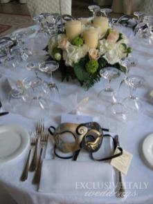 Venice Masks wedding favors