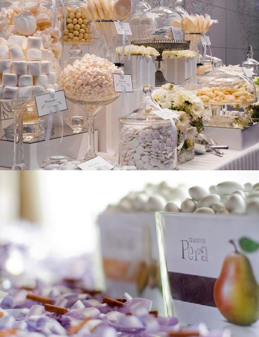 """""""Confetti"""" (sugared almonds) traditional Italian wedding favors"""