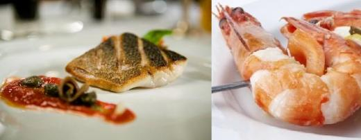Fish main course at Italian weddings