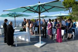 Protestant wedding at the Relais Blu in Sorrento planned by EIW (14)