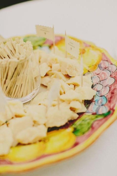 Parmesan slices