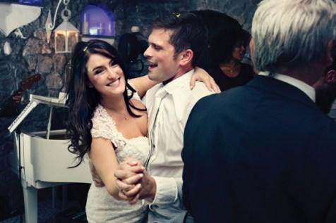 Fifties style wedding on the Amalfi Coast – Party