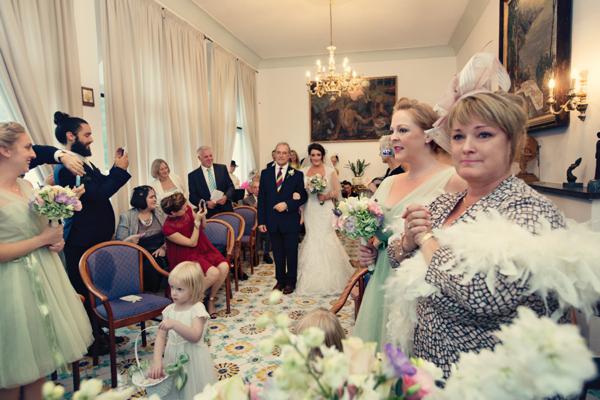 Fifties style wedding on the Amalfi Coast - Ceremony