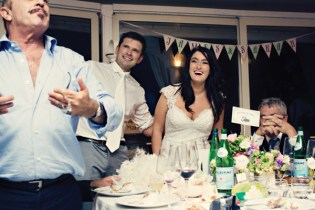 Fifties style wedding on the Amalfi Coast – Reception