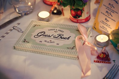 Fifties style wedding on the Amalfi Coast - Guest Book