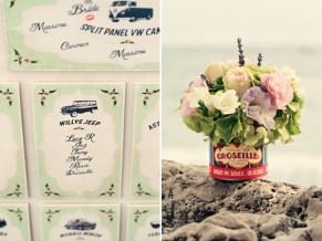 Fifties style wedding on the Amalfi Coast - Decoration