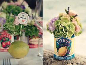 Fifties style wedding on the Amalfi Coast – Decorations