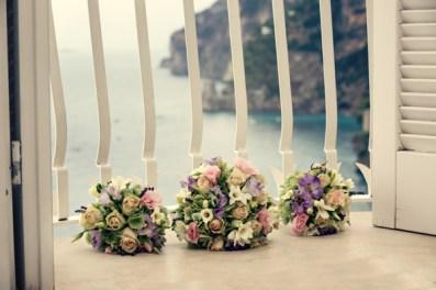 Fifties style wedding on the Amalfi Coast – Flower Bouquet