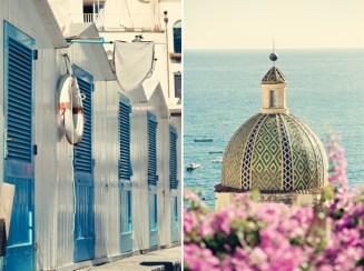 Fifties style wedding on the Amalfi Coast – Seascape