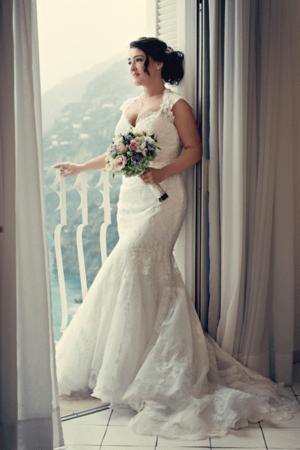 Fifties style wedding on the Amalfi Coast – Bride