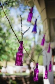 radiant orchid decoration