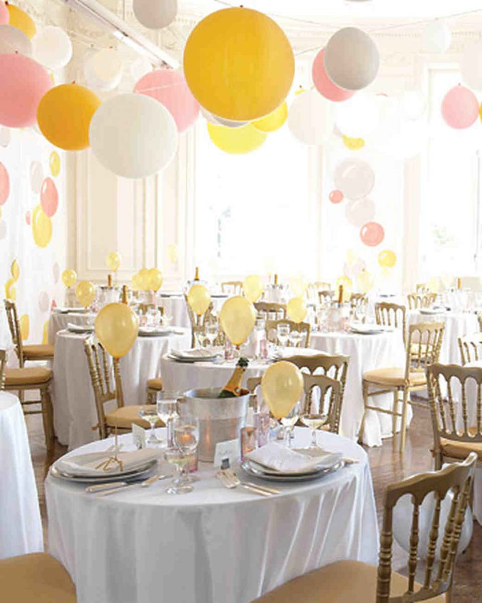 Balloon decorations for your wedding in Italy | Exclusive Italy ...