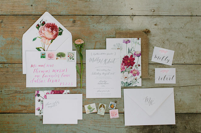floral-calligraphy-stationery