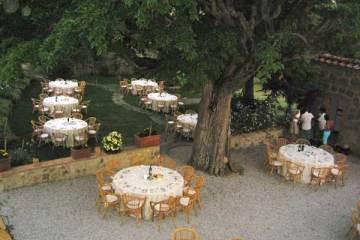 Gardens of Terre di Nano, wedding venue in Tuscany