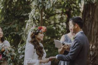 Bohemian Wedding Under the Trees