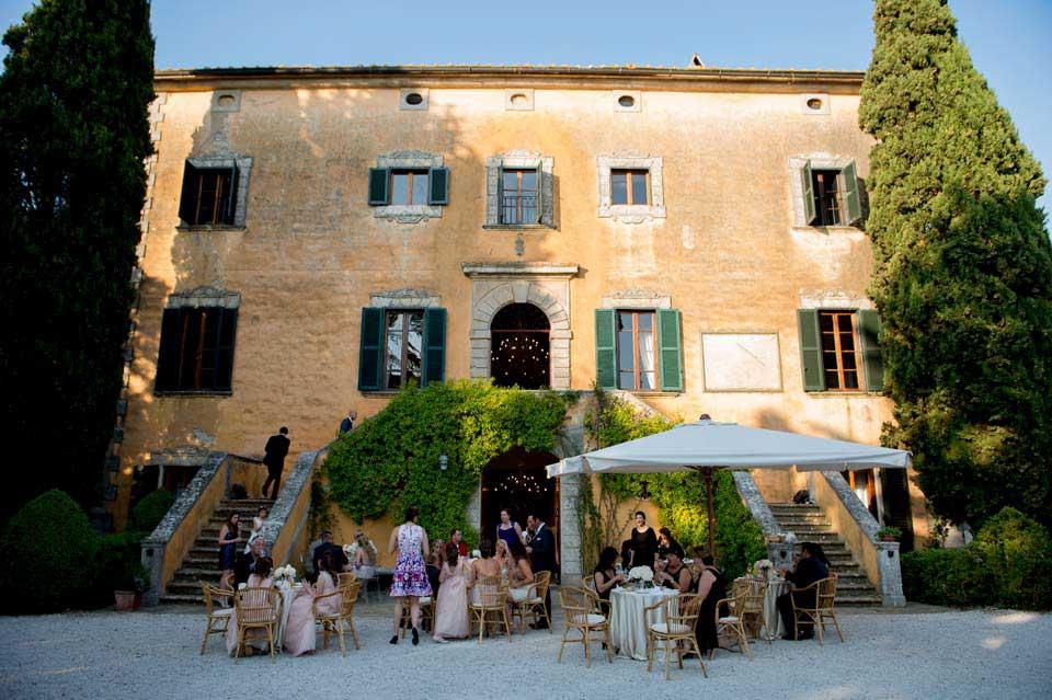 Tuscan Villa for Destination Weddings