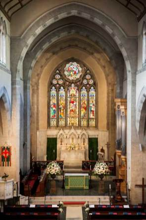Florence church for protestant weddings