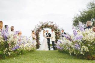 Outdoor wedding in Ravello