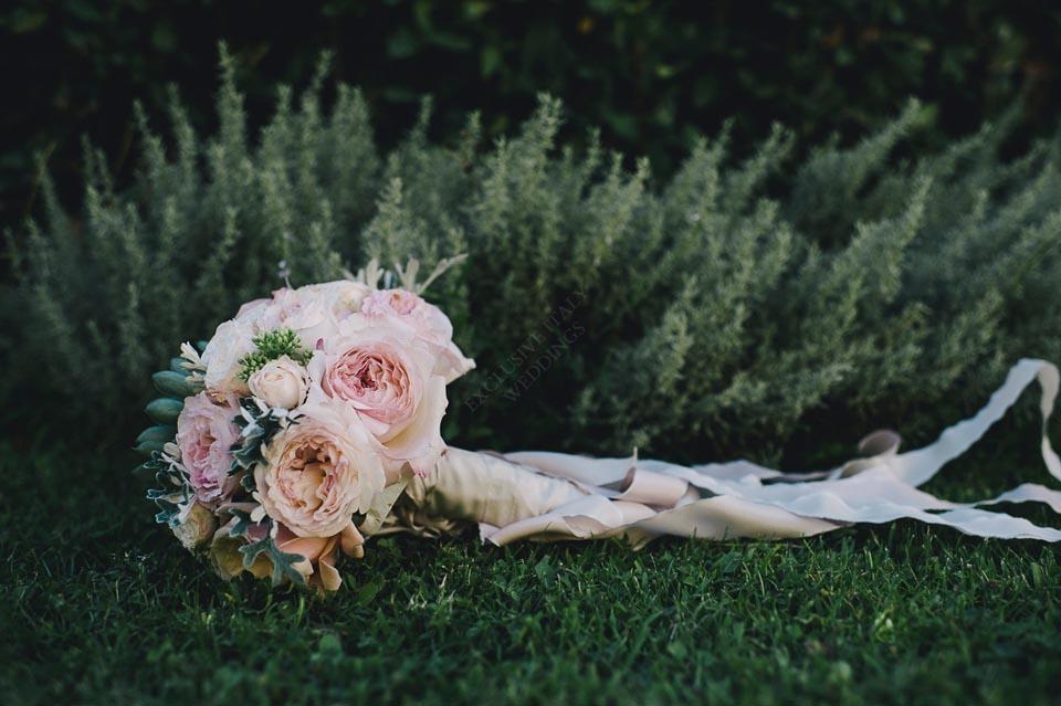 Bouquet for wedding on the Amalfi Coast