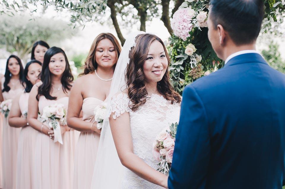 Weddings in Italy: outdoor ceremony in Ravello