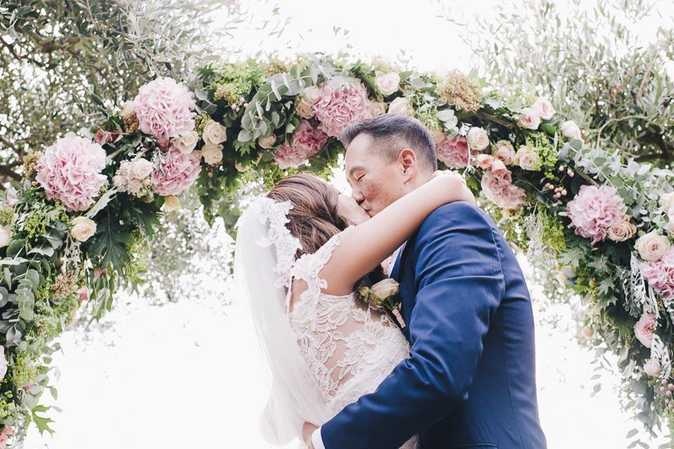 Wedding In Ravello: Country Chic Style